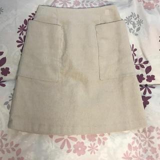 プラステ(PLST)のPLST コーデュロイ スカート(ひざ丈スカート)