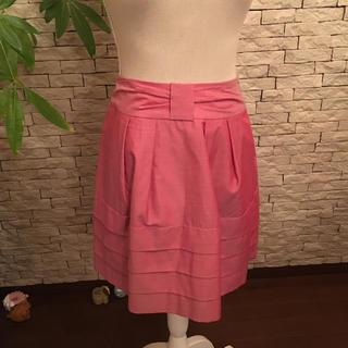 ストロベリーフィールズ(STRAWBERRY-FIELDS)の春スカート新品(ひざ丈スカート)