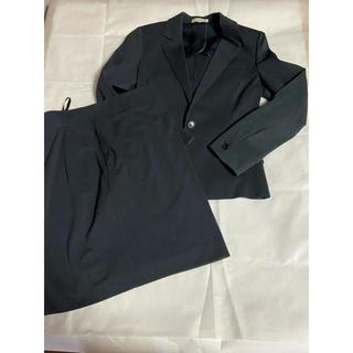 ナラカミーチェ(NARACAMICIE)のレディーススーツ スカート ストライプ ネイビー ナラカミーチェ(スーツ)