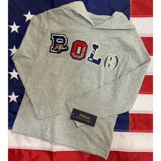 ポロラルフローレン(POLO RALPH LAUREN)の★SALE ★ラルフローレンフーデッドTシャツ7/130(Tシャツ/カットソー)