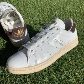 アディダス(adidas)の美品22.5adidasアディダス×ビューティー&ユース スタンスミス D449(スニーカー)