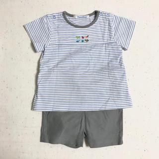 ファミリア(familiar)のharu様専用:【familiar】Tシャツ・半ズボンセットアップ(70㎝)(ロンパース)