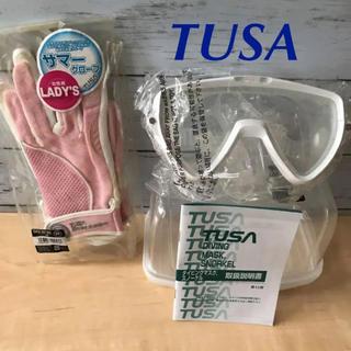 TUSA - ダイビング ゴーグル&グローブ セット