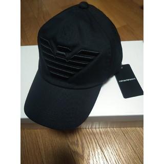 Emporio Armani - 新品・未使用 EMPORIO ARMANI ベースボールキャップ 帽子