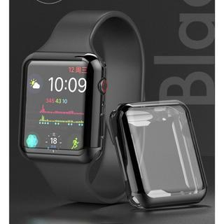 アップルウォッチ カバー 40 mm 画面保護 ケース AppleWatch (腕時計(デジタル))