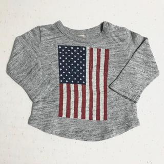 プティマイン(petit main)の【petit main】ロンT(80㎝)(Tシャツ)
