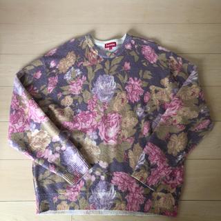 シュプリーム(Supreme)のSUPREME  Printed Floral Angora Sweater(ニット/セーター)