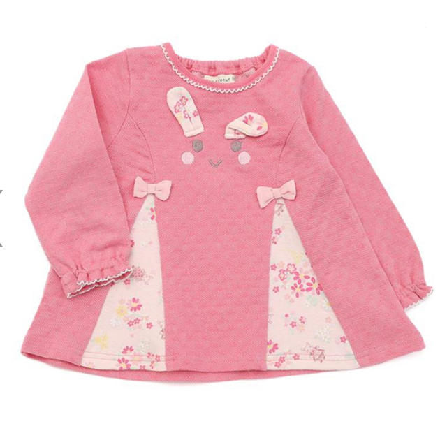 coeur a coeur(クーラクール)のクーラクール キムラタン 100 キッズ/ベビー/マタニティのキッズ服女の子用(90cm~)(Tシャツ/カットソー)の商品写真