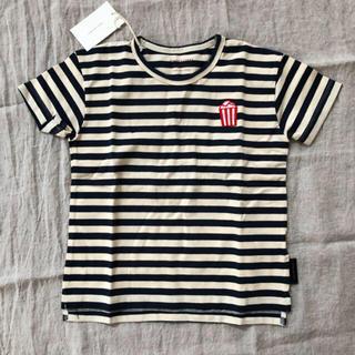コドモビームス(こども ビームス)の正規品 Tinycottons ポップコーン ストライプ tシャツ 4y(Tシャツ/カットソー)
