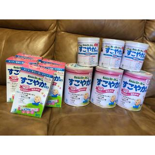 ユキジルシメグミルク(雪印メグミルク)の【ワイガール様専用】粉ミルクすこやかM1 800g+300g+使いきりスティック(その他)