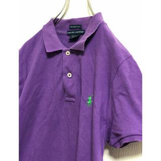 ラコステ(LACOSTE)のラコステ LACOSTE ポロシャツ パープル レアカラー(ポロシャツ)