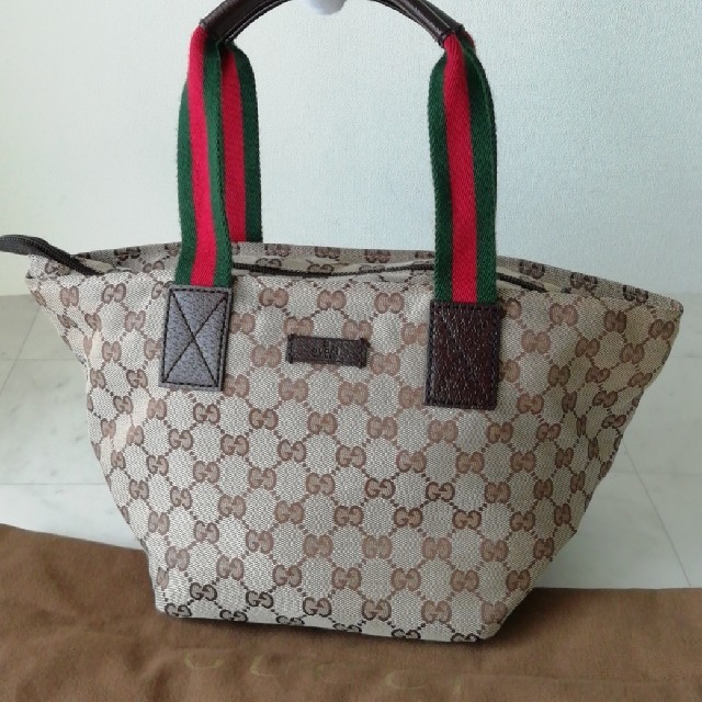 Gucci - 【未使用に近い 正規品】グッチ トートバッグ シェリーラインの通販
