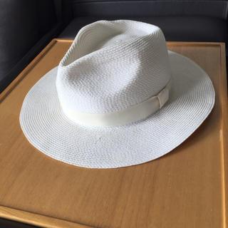 バーニーズニューヨーク(BARNEYS NEW YORK)のバーニーズ ニューヨーク   ストローハット   麦わら帽子(麦わら帽子/ストローハット)