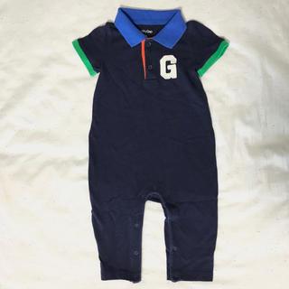 ベビーギャップ(babyGAP)の【baby Gap】ポロシャツロンパース(70㎝)(ロンパース)