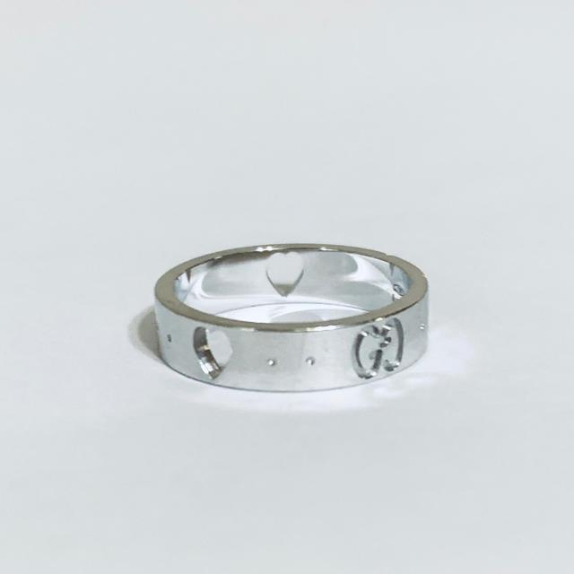 Iwc 時計 ガラパゴス スーパー コピー / Gucci - 美品✨GUCCI グッチ✨K18 750 アイコン アモール ハート リング✨の通販