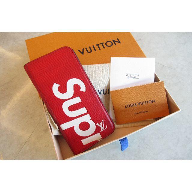 LOUIS VUITTON - ヴィトン×シュプリーム コラボ エピ フォリオ7/8 iphoneケースの通販