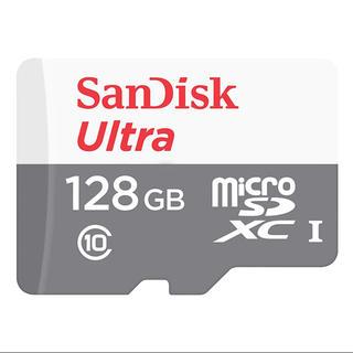 サンディスク(SanDisk)のSanDisk ウルトラ マイクロSDカード 128GB 未開封(PC周辺機器)