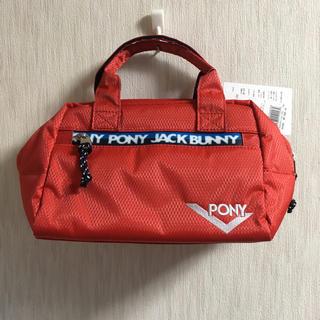 パーリーゲイツ(PEARLY GATES)の【新品、未使用】ジャックバニーPONYコラボカートバッグ(バッグ)
