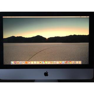 Mac (Apple) - 一部欠品 パソコン iMac 2017  21.5インチ 4k  3.0GHz