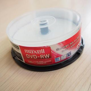 マクセル(maxell)の☆ウーちゃん様専用☆maxell DVD-RW 14枚&のりもの最強DVD(DVDレコーダー)