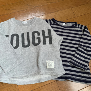 3can4on - ☆3can4onとMUJI☆ size100の長袖セット