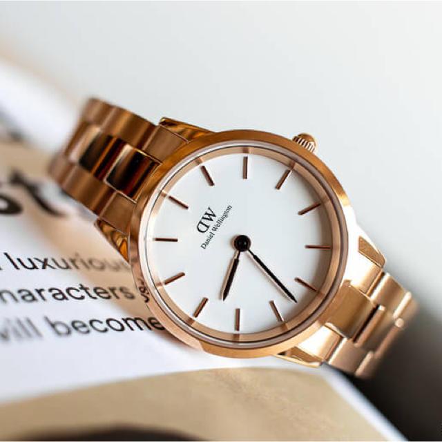 コルム コピー 新品 、 Daniel Wellington - 安心保証付!最新作【28㎜】ダニエル ウェリントン腕時計 Iconic Linkの通販