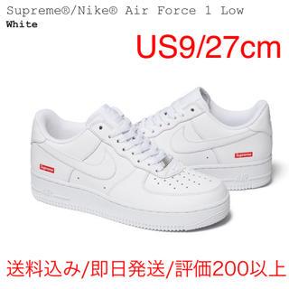 シュプリーム(Supreme)の白 27.0cm NIKE AIR FORCE 1 LOW Supreme(スニーカー)