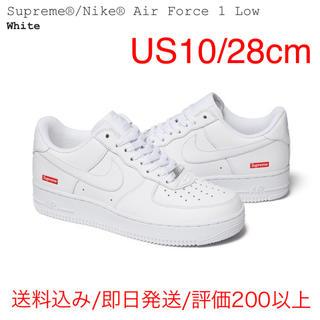 シュプリーム(Supreme)の白 28.0cm NIKE AIR FORCE 1 LOW Supreme(スニーカー)