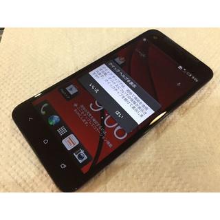 ハリウッドトレーディングカンパニー(HTC)のau  HTC J butterfly HTL21 レッド ジャンク品(スマートフォン本体)