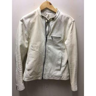 ポールスミス(Paul Smith)のポールスミス 革ジャン ライダースジャケット R-M1851(ライダースジャケット)