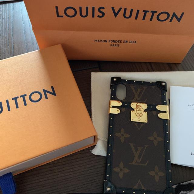 LOUIS VUITTON - ルイヴィトン iPhoneケース iPhoneXSの通販