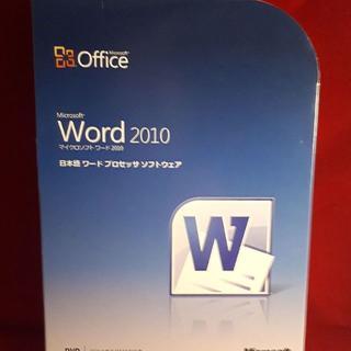 マイクロソフト(Microsoft)の正規●Microsoft Office Word2010●製品版(その他)