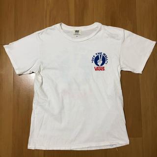 スタンダードカリフォルニア(STANDARD CALIFORNIA)のSTANDARD CALIFORNIA ×VANS 白 Tシャツ S(Tシャツ/カットソー(半袖/袖なし))