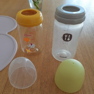 コンビ(combi)のPIGEONピジョンCOMBIコンビ テテオ授乳のお手本哺乳瓶プラスチック製(哺乳ビン)