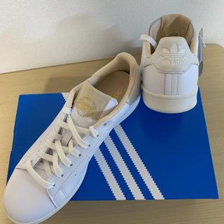 アディダス(adidas)の新品 アディダス スタンスミス ベージュ クリーム ゴールド ホワイト 27(スニーカー)
