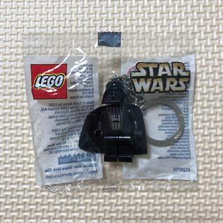 レゴ(Lego)のスターウォーズ LEGO レゴ ダースベイダー キーホルダー 未使用未開封(キーホルダー)
