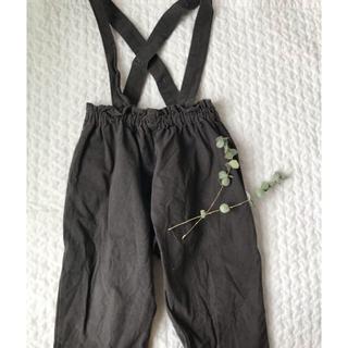 こども ビームス - 韓国子供服 サロペットパンツ 美品 100 モンミミ