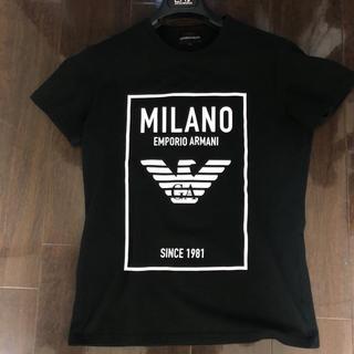 Emporio Armani - 新作 エンポリオアルマーニ デカロゴTシャツ