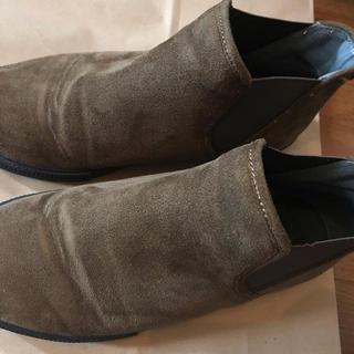 ショートブーツ 茶色(ブーツ)