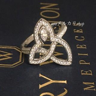 ハリーウィンストン(HARRY WINSTON)の最高品質リング SONAダイヤモンド使用 リリークラスター好き 本家仕様(リング(指輪))