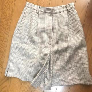 【値段相談可】ピンクチェックパンツ(ショートパンツ)