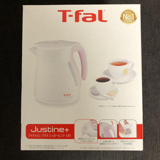 T-fal - T-fal 電気ケトル 1.2L シュガーピンク