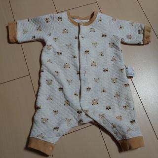 ユニクロ(UNIQLO)のベビー服 12 カバーオール サイズ60(カバーオール)