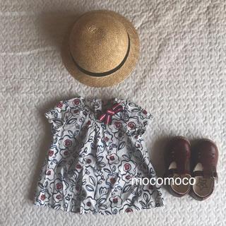 コドモビームス(こどもビームス)の【美品】プチバトー お花柄トップス❤︎(Tシャツ)