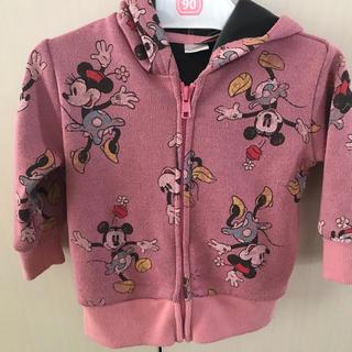 ディズニー(Disney)のディズニー パーカー(80cm)(ジャケット/コート)