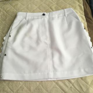 パーリーゲイツ(PEARLY GATES)のアルチビオ ゴルフスカート美品(ミニスカート)