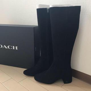 COACH - 新品未使用❤︎コーチ❤︎coach  ロングブーツ ブラック