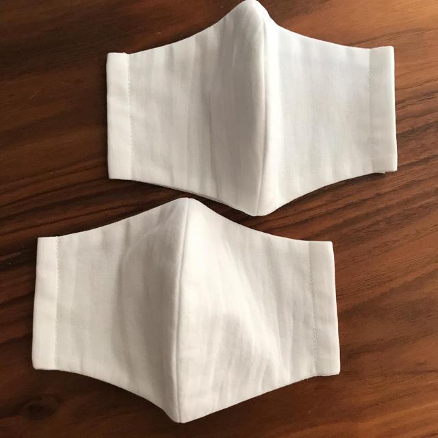 マスク型紙作り方 / 立体インナーマスク 2枚セット ★女性用の通販