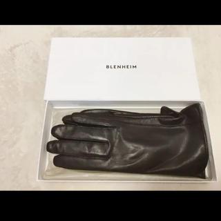 ブレンヘイム 手袋 革 未使用(スマホ対応)