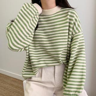 EDIT.FOR LULU - 韓国ファッション ボーダー ニット